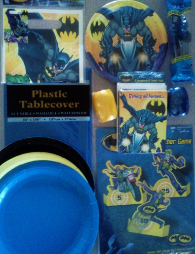 Batman Birthday Party Package Deluxe Celebration