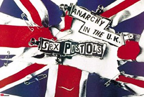 Sex Pistols - Poster - Anarchy in the UK + Poster a sorpresa