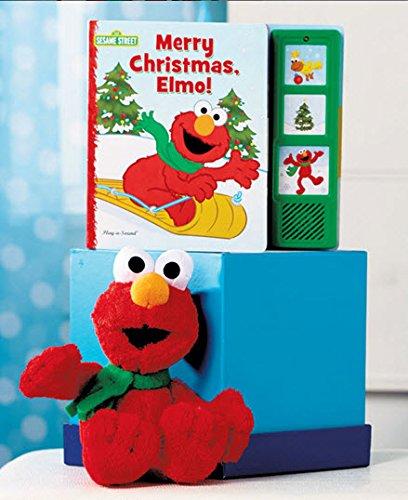 Merry Christmas, Elmo! Play-a-sound Book & Cuddly Elmo - 1