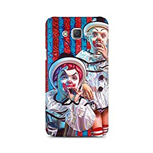 Mobicture Blue Hearts Premium Printed Case For Moto G3