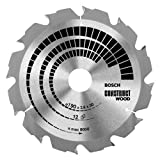 Advanced Bosch XS-ProSPEC Construct Circular Saw Blade 184mm x 12 Teeth 16mm Bore [Pack of 1] w/Extended Warranty