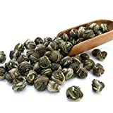 Imperial Jasmine Dragon Pearls Green Tea Loose Leaf - Best Jasmine Tea - Organic (4oz / 110g)