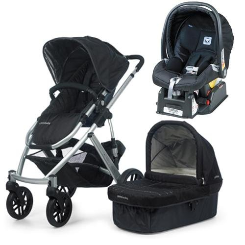 UPPAbaby VISTA Jake Travel system with peg perego Nero car seat