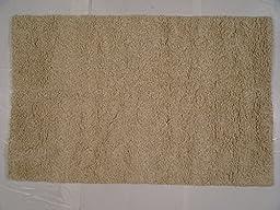 Lifestyles LS-RJ14 5 x 8 ft. Kavera 100 Percent Long Fiber Wool Hand Made Rug, Grey