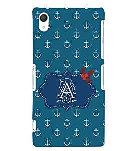 EPICCASE anchor of A Mobile Back Case Cover For Sony Xperia T2 (Designer Case)