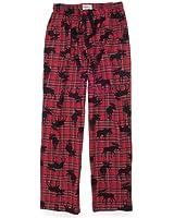"Hatley ""Moose On Plaid"" Men's Flannel Pajama Pants"