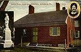 Jennie Wade House and Monument Gettysburg, Pennsylvania Original Vintage Postcard