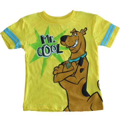Scooby-Doo Mr. Cool Little Boys T-Shirt (2T-4T) (4T) front-179408