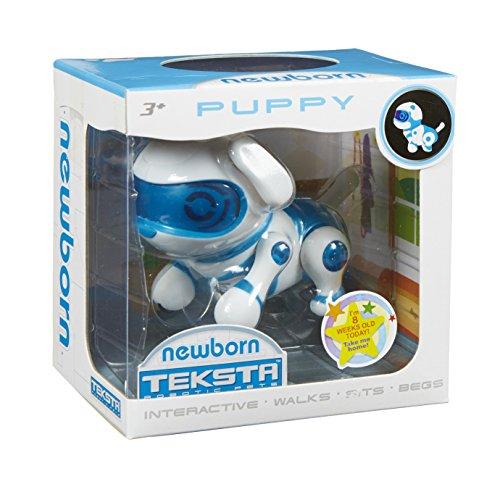 Teksta Robotic - Newborn - Puppy - Chiot Robot - Mini Animal Interactif