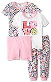 Gerber Baby-Girls Infant 4 Piece Love Pajama