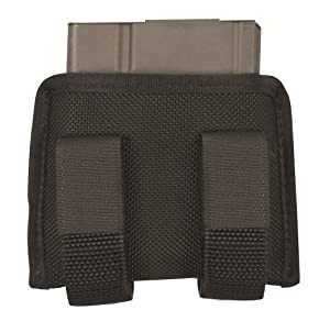 TUFF G.A.G. Single Ar10 Mag Holder (Black Nylon, Fits One AR15 10 Rd)