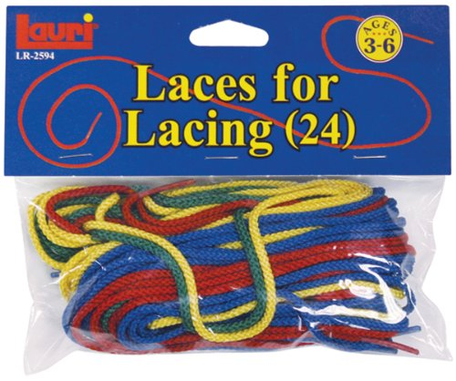 "Patch Products Toys 36"" Long Extra Laces, Assorted Colors, 24-Piece"