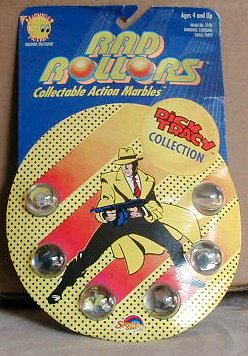 Dick Tracy's Collectable Action Marbles with Pictures Inside (1990)