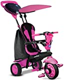 New Smart Trike Spirit 4-In-1 Touch Steering Tricycle Bike Spark Pink 6751200