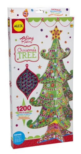 ALEX Toys Craft Bling Along Christmas Tree