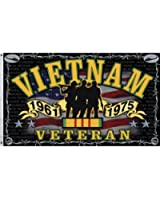 Freedom Fighter Vietnam War Veteran Indoor/Outdoor 3 X 5 FT. Flag