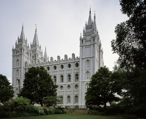 Mormon Temple, Salt Lake City - Iconic 16x20 Photographic Print by Carol M. Highsmith