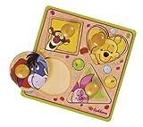 Eichhorn 100003383 Winnie the Pooh - Tabla troquelada en madera (Simba Dickie)