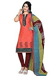 RK Fashion Multi-Coloured Colour Cotton Unstitched Dress Material (CHANDANI1037-Multi-Coloured-Free Size)