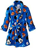 Disney Mickey Mouse Little Boys' Toddler Bathrobe in Sports Motif