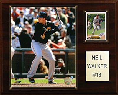 MLB Neil Walker Pittsburgh Pirates Player Plaque