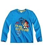 Disney Jake and the Never Land Pirates Long Sleeve T-Shirt blue
