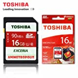 Toshiba Exceria THN-N302R0160A4 16GB SDHC UHS-1 90Mb/s Memory Card