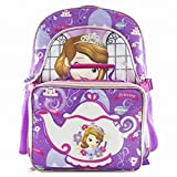 Disney Sofia the First Backpack & Lunchbox Travel School Day Back Pack