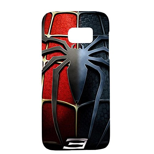 Samsung Galaxy S7 Case Cover,Classical Spider Logo Design 3D Comic Spiderman Phone Case Cover for Samsung Galaxy S7 Hot Superhero
