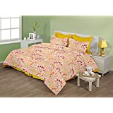 "Birla Century Bedsheet FLORICA Polyester Cotton Blend Double Bed Sheet Size: 88"" X 96"" With Two Pillow Cover Size... - B00MY1IMSU"