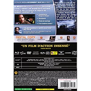 Sherlock Holmes 2 : Jeu d'ombres [Ultimate Edition boîtier SteelBook - Combo Blu-ray + DVD]