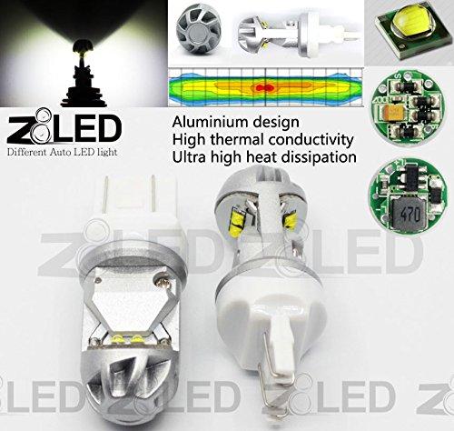 Z8 2X T20 7443 W22W Auto Led Bulb 20W Cool Hypothermia 6000K 320° Cree Chip Brand New Brake Signal / Tail Car Light Z8Led White#10Gt20Dww