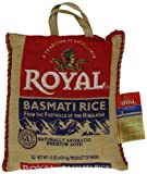 Royal Basmati Rice in Burlap Bag, 10 Pound
