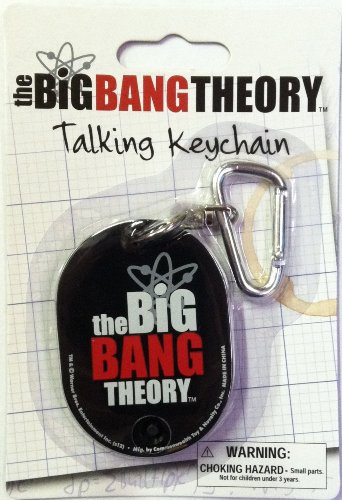 The Big Bang Theory Talking Keychain - Logo - 1