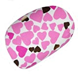 Chix Nails Nail Wraps Sweethearts Pink Gold Hearts Print Fingers Toes Vinyl Foils Minx Trendy Style Salon