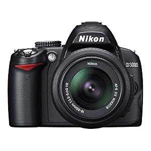 Nikon D3000 10.2MP Digital SLR Camera