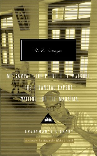 R K Narayan Mr Sampath - The Printer of Malgudi, The Financial Expert, Waiting for the Mahatma:
