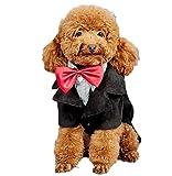 baby-mine(ベイビーマイン)ペット ドレススーツ タキシード コスプ衣装 クリスマス ハロウィン 犬服 猫服