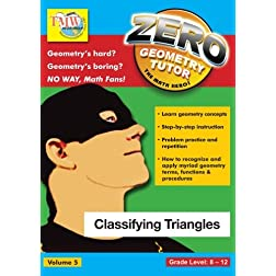 Zero The Math Hero - Classifying Triangles