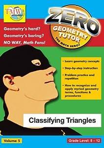 Zero The Math Hero - Classifying Triangles