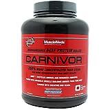 MuscleMeds Carnivor, 4lb Fruit Punch Beef Protein