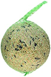 Erdtmanns 7 by 4.5 by 4-Inch Suet Ball Packed in a Green Net Pet Treat, XX-Large