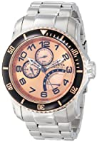 Invicta Men's 15338 Pro Diver Rose Gold Tone Dive Watch from Invicta