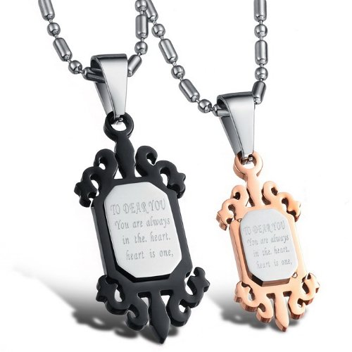 Opk Jewellery Necklaces Stainless Steel Neckwear Chains Classic Id Tag Pendants For Men And Girl Necklets