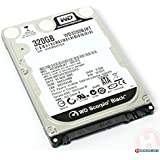 Western Digital (WD) Black 320 GB (320gb) Mobile Hard Drive: 2.5 Inch, 7200 RPM, SATA II, 16 MB Cache- 1 Year Warranty for Laptop, Mac, PC, and PS3