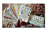 24 Sheets Multipurpose Vintage Photograph Diary DIY Schedule Paster Sticker Suit