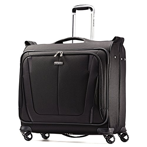 Samsonite Silhouette Sphere 2 Softside Deluxe Voyager Garment Bag, Black, One Size (Garment Travel Bag On Wheels compare prices)