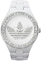 Adidas Unisex Melbourne ADH2761 White Plastic Quartz Watch with White Dial
