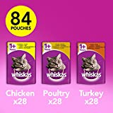 Product Image of Whiskas Wet Cat Food Pouch for 1+ Adult, Mixed Selection -...