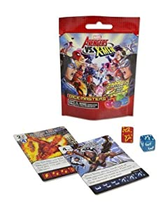 10 (Ten) Boosters Packs of Marvel Dice Masters Avengers vs X-Men Dice Building Game (10 Random Booster Packs)